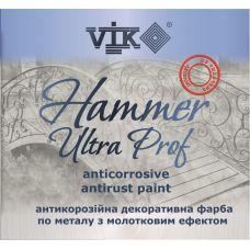 Профессиональная краска по металлу VIK HUMMER ULTRA PRO( (тёмно-коричневый) 2кг (3318)