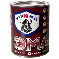 Эмаль ПФ - 266 Красно-коричневая 0,85 кг VIKING