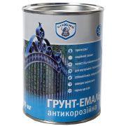 Грунт - Эмаль антикоррозийная 3 в 1 Темно-серая 2,8 кг VIKING