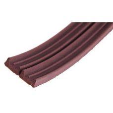 Ущільнювач TRELLEBORG Е профіль 100 м коричневий (шт)
