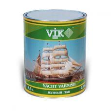Лак VIK яхтный прозрачный голубой 0,75 л