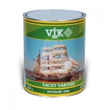 Лак VIK яхтный полуматовый 2,5 л