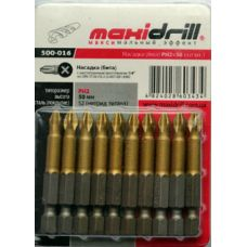 Бита с ограничителем PH2x50 мм Maxidrill