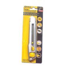 Нож металлический с выдвижным трапециевидным лезвием HT-Tools