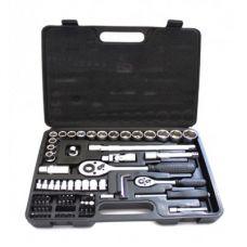 """Набор инструмента Cr-V, 1/4"""" и 1/2"""", 72 ед. HT-Tools"""