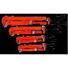 """Ключ трубный 90* 2"""" обрезиненная рукоятка  POLAX"""