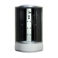 Fabio Гидромассажный бокс 100*100 TMS-885/40 (электронная панель, подсветка, радио)